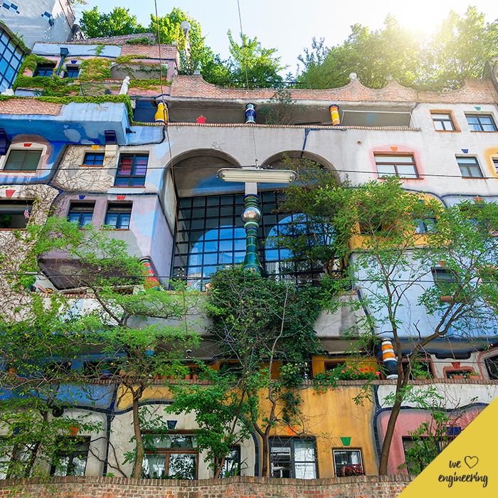 Hundertwasserhaus vo Viedni